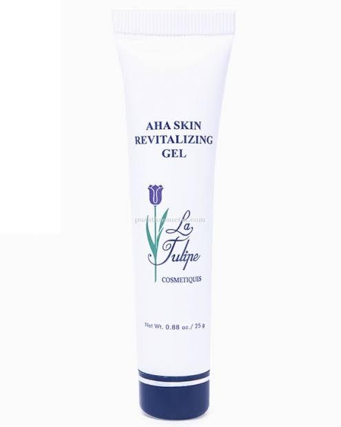La Tulipe AHA Skin Revitalizing Gel untuk Memutihkan Kulit Wajah