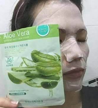 Cara Memakai Masker Bioaqua Aloe Vera