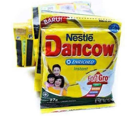 efek samping masker susu dancow