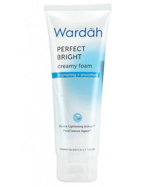 Wardah Perfect Bright Creamy Foam Brightening + Smoothing