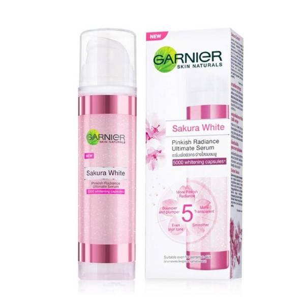 Garnier Sakura White Pinkish Radiance Ultimate Serum