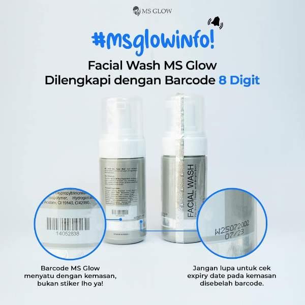 Perbedaan MS Glow Asli dan Palsu - Desain Kemasan