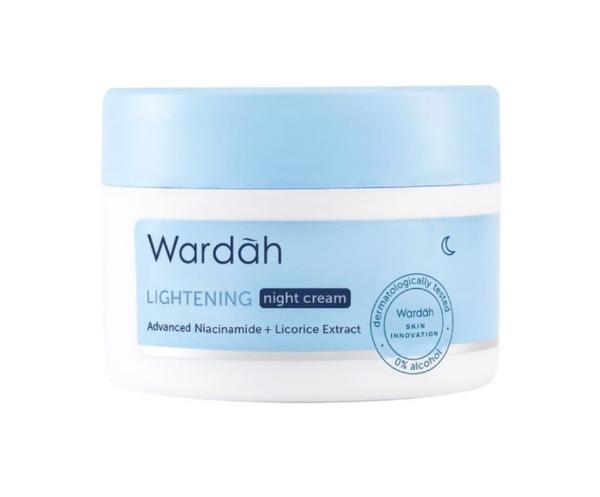 Urutan Pemakaian Wardah Lightening Series Malam Hari