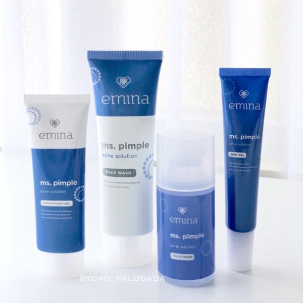 √ Urutan Pemakaian Skincare Emina MS Pimple untuk Hilangkan Jerawat di Wajah